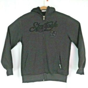 Southpole Youth Large Fleece Zip Hoodie Jacket Poc